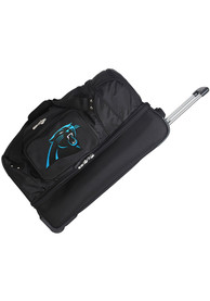 Carolina Panthers Black 27 Rolling Duffel Luggage