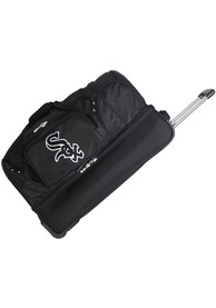 Chicago White Sox Black 27 Rolling Duffel Luggage
