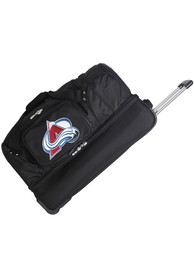 Colorado Avalanche Black 27 Rolling Duffel Luggage