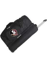 Florida State Seminoles Black 27 Rolling Duffel Luggage
