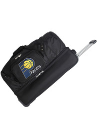 Indiana Pacers Black 27 Rolling Duffel Luggage