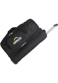 Los Angeles Chargers Black 27 Rolling Duffel Luggage