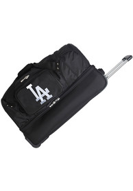 Los Angeles Dodgers Black 27 Rolling Duffel Luggage