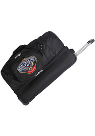 New Orleans Pelicans Black 27 Rolling Duffel Luggage