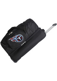 Tennessee Titans Black 27 Rolling Duffel Luggage