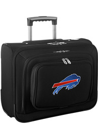 Buffalo Bills Black Overnighter Laptop Luggage