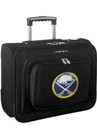 Buffalo Sabres Black Overnighter Laptop Luggage