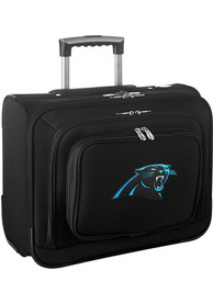 Carolina Panthers Black Overnighter Laptop Luggage