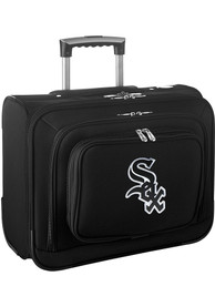 Chicago White Sox Black Overnighter Laptop Luggage