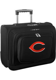 Cincinnati Reds Black Overnighter Laptop Luggage