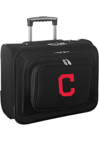 Cleveland Indians Black Overnighter Laptop Luggage