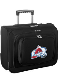 Colorado Avalanche Black Overnighter Laptop Luggage