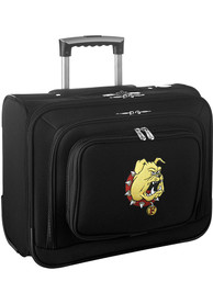 Ferris State Bulldogs Black Overnighter Laptop Luggage