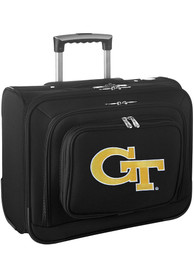 GA Tech Yellow Jackets Black Overnighter Laptop Luggage