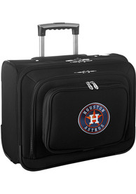 Houston Astros Black Overnighter Laptop Luggage
