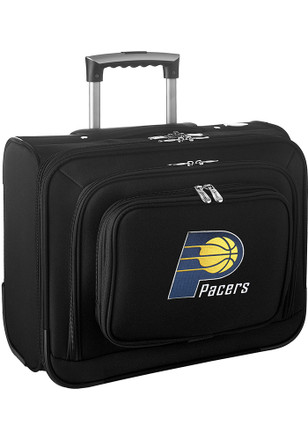 Indiana Pacers Black Overnighter Laptop Luggage