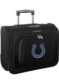 Indianapolis Colts Black Overnighter Laptop Luggage