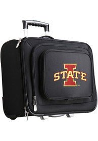 Iowa State Cyclones Black Overnighter Laptop Luggage