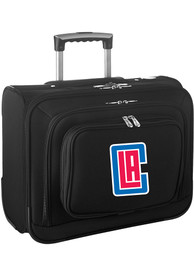 Los Angeles Clippers Black Overnighter Laptop Luggage