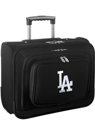 Los Angeles Dodgers Black Overnighter Laptop Luggage