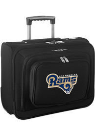 Los Angeles Rams Black Overnighter Laptop Luggage