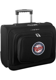 Minnesota Twins Black Overnighter Laptop Luggage
