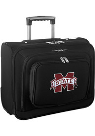 Mississippi State Bulldogs Black Overnighter Laptop Luggage