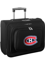 Montreal Canadiens Black Overnighter Laptop Luggage