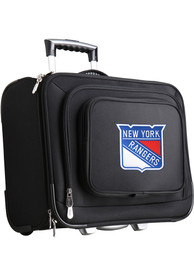 New York Rangers Black Overnighter Laptop Luggage