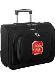 NC State Wolfpack Black Overnighter Laptop Luggage