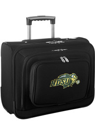 North Dakota State Bison Black Overnighter Laptop Luggage