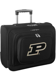 Purdue Boilermakers Black Overnighter Laptop Luggage