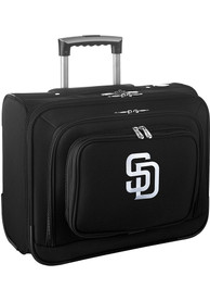 San Diego Padres Black Overnighter Laptop Luggage