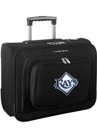 Tampa Bay Rays Black Overnighter Laptop Luggage