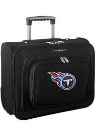 Tennessee Titans Black Overnighter Laptop Luggage