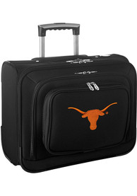 Texas Longhorns Black Overnighter Laptop Luggage