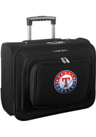 Texas Rangers Black Overnighter Laptop Luggage