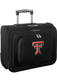 Texas Tech Red Raiders Black Overnighter Laptop Luggage