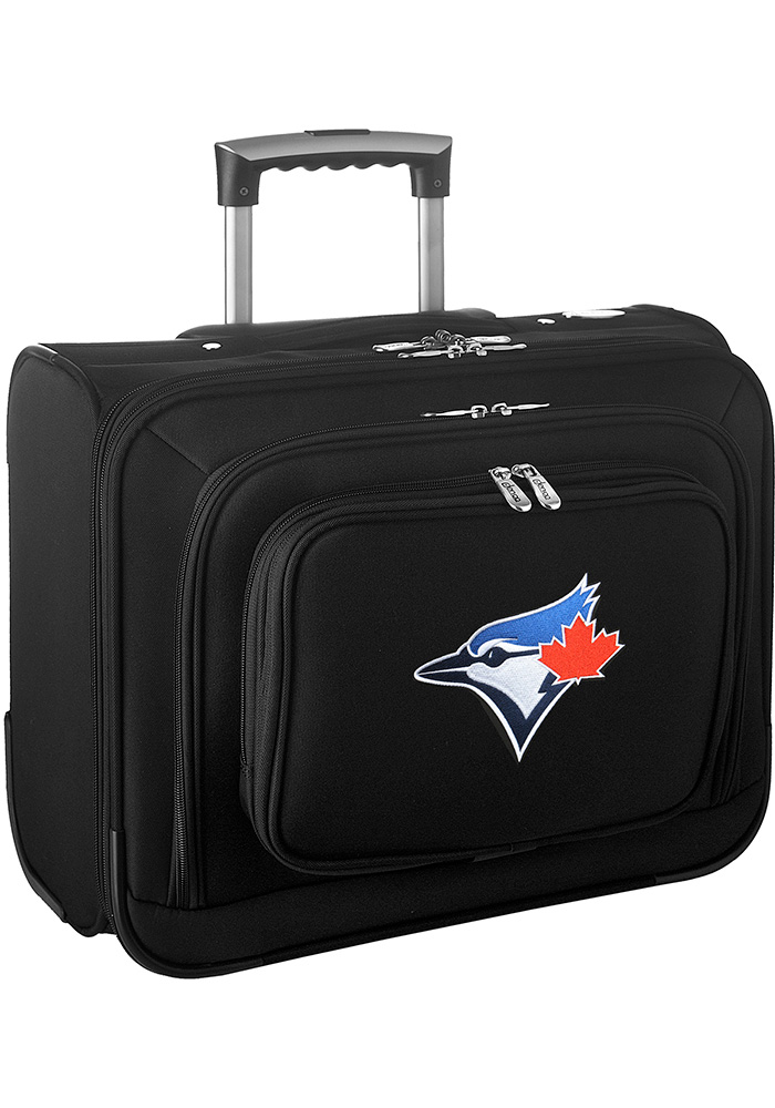 Toronto Blue Jays Black Overnighter Laptop Luggage - Image 1