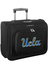 UCLA Bruins Black Overnighter Laptop Luggage