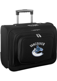 Vancouver Canucks Black Overnighter Laptop Luggage