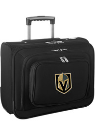 Vegas Golden Knights Black Overnighter Laptop Luggage