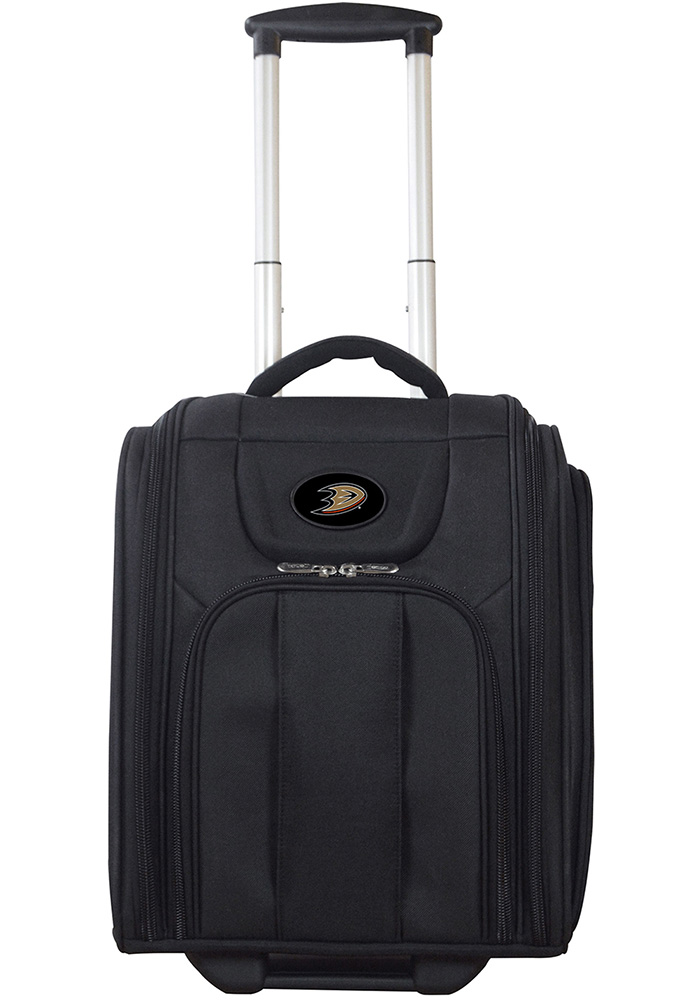 Anaheim Ducks Black Wheeled Business Luggage - Image 1