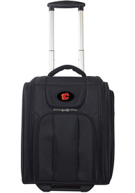 Calgary Flames Black Wheeled Business Luggage