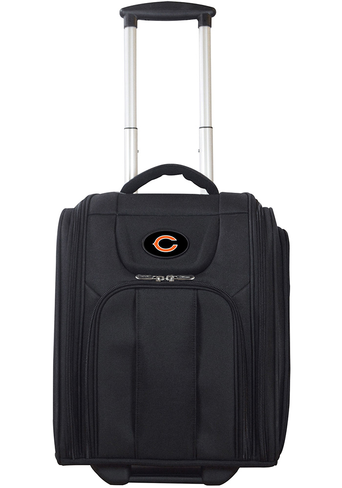 Chicago Bears Black Wheeled Business Luggage - Image 1