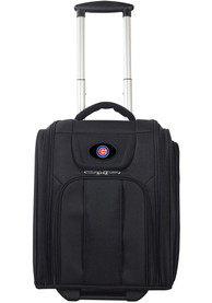 Chicago Cubs Black Wheeled Business Luggage