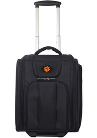 Clemson Tigers Black Wheeled Business Luggage