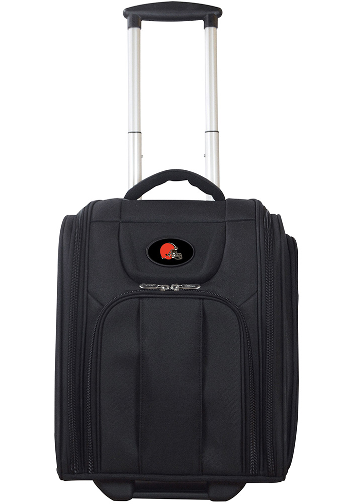 Cleveland Browns Black Wheeled Business Luggage - Image 1