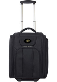 Colorado Buffaloes Black Wheeled Business Luggage