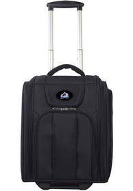 Colorado Avalanche Black Wheeled Business Luggage